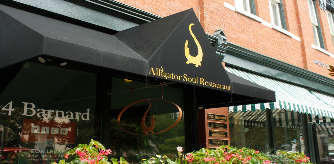 Restaurants in Savannah - Alligator Soul