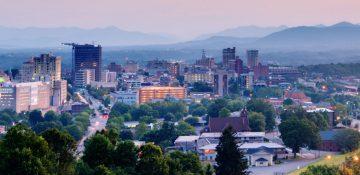 Skyline of Asheville