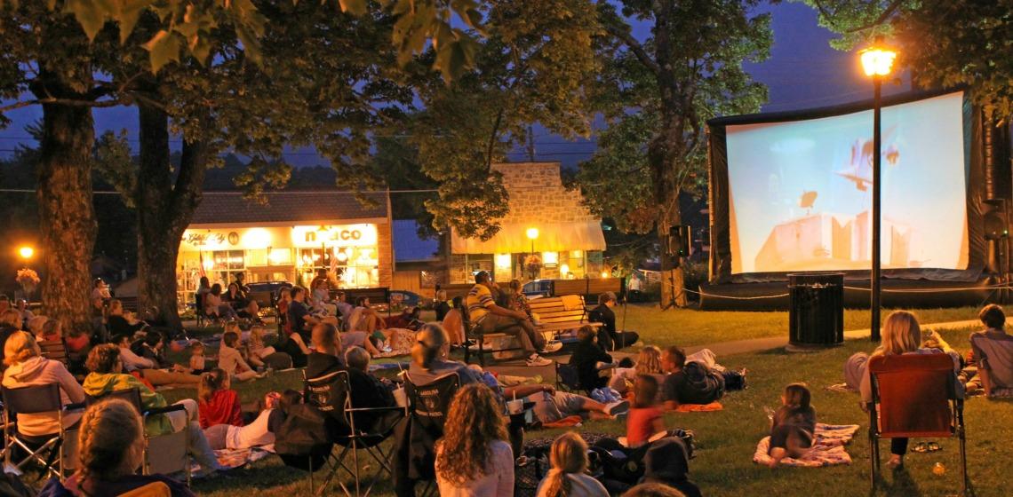 Living in Blowing Rock - Main Street cinema
