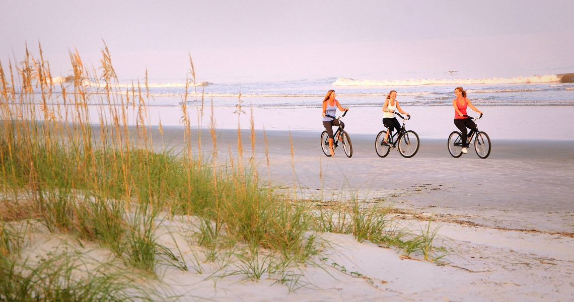 Active retirement in the Lowcountry - beaches and cycling