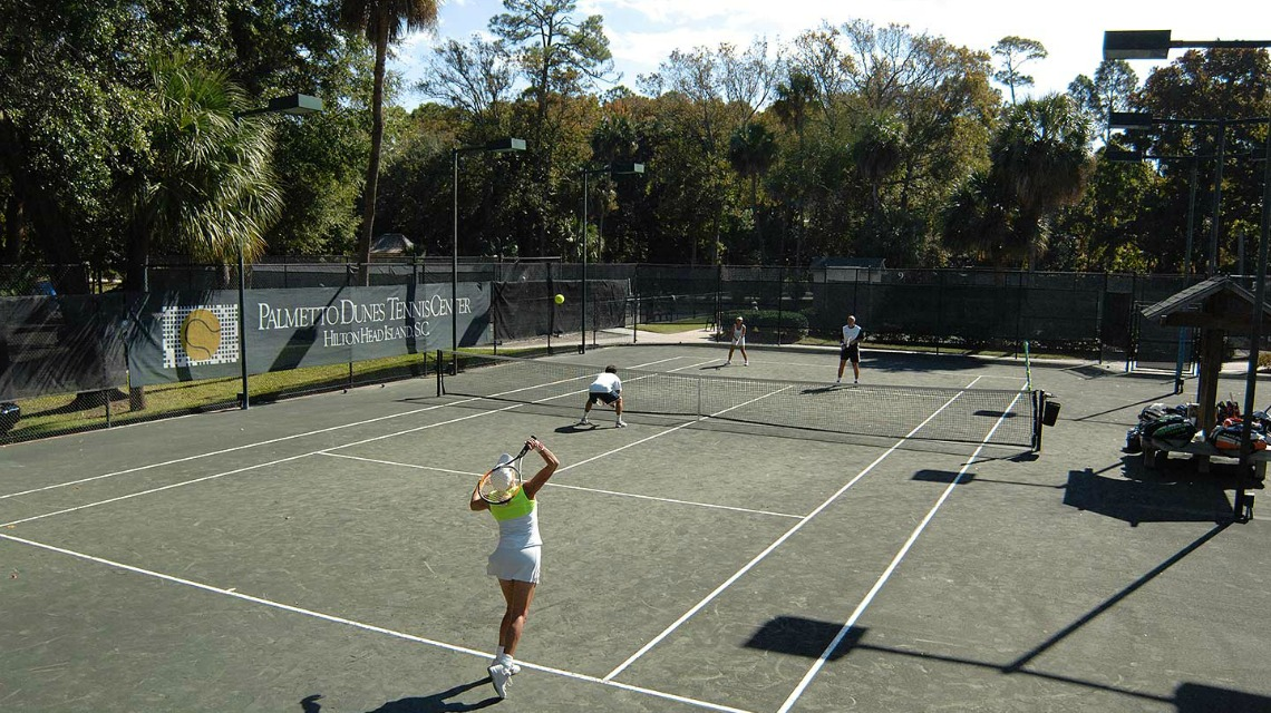 Active retirement in the Lowcountry - tennis