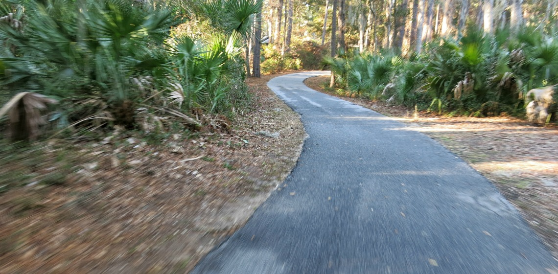 Active retirement in the Lowcountry - bike trails