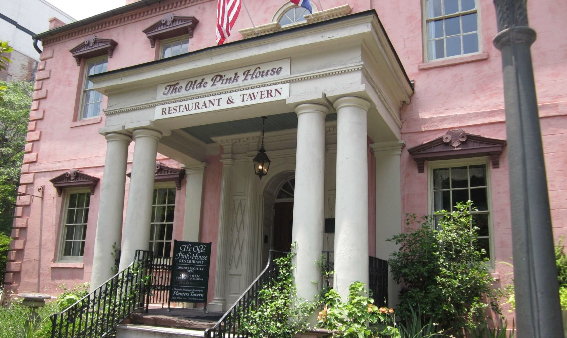 Restaurants in Savannah - The Olde Pink House