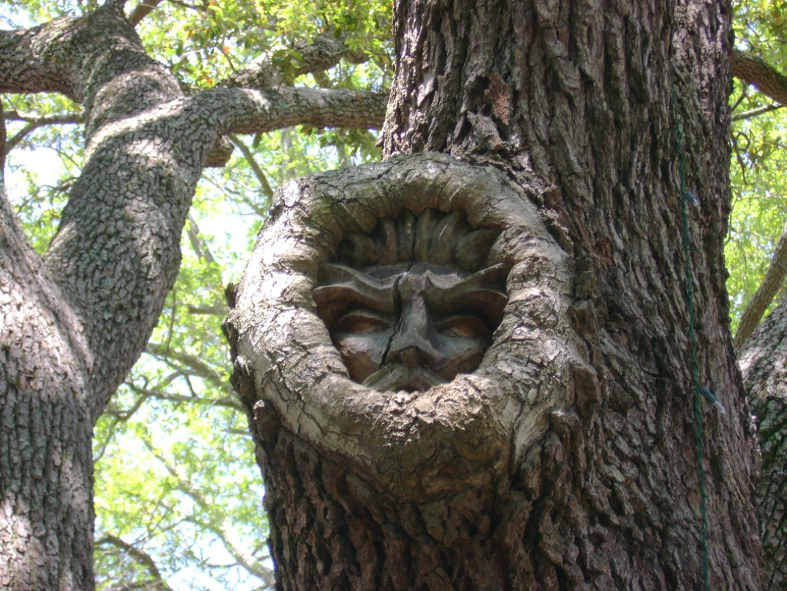 Tree spirits on Golden Isles