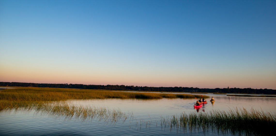 Retire in Hilton Head - kayaking