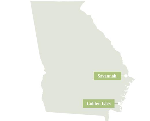 Map of Georgia.